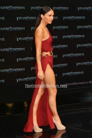 Megan Fox ミーガンフォックス ベルリンのレッドカーペットでトランスフォーマー2のセクシーなウエディングドレスプレミア