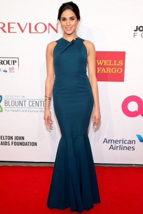 Meghan Markle Chic Mermaid Formal Gown Enduring Vision