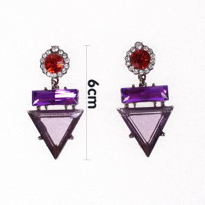 New Arrival Vintage Gem Statement Drop Earrings TCDE0038