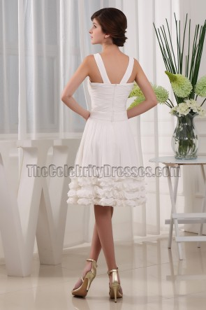 New Style Ivory Homecoming Cocktail Bridesmaid Dresses