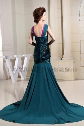 New Style Mermaid V-neck Evening Dress Prom Formal Dresses