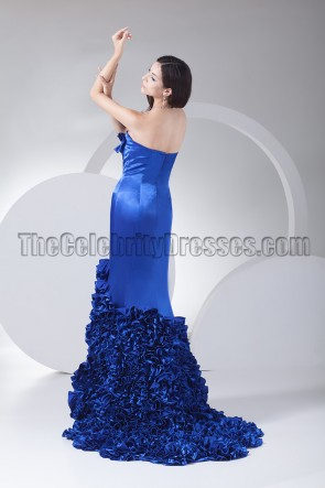 New Style Royal Blue Formal Dress Evening Prom Gown