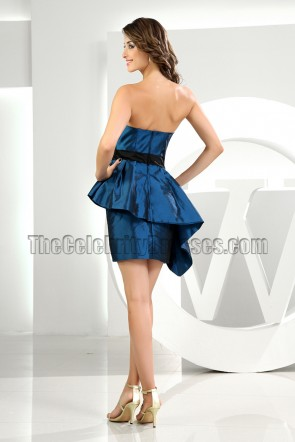 New Style Short Mini Strapless Cocktail Dress Party Dresses