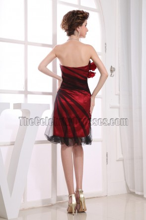 New Style Strapless Short Party Dress Cocktail Dresses