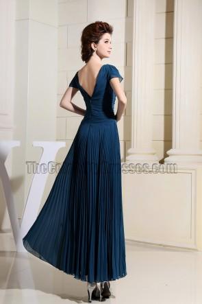 New Style V-neck Prom Dress Mother of Bride Dresses