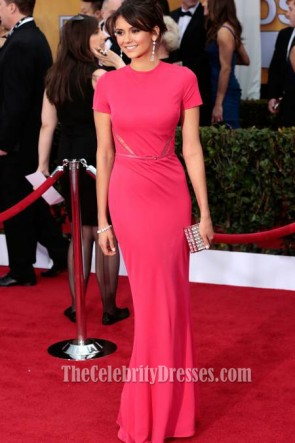 Nina Dobrev Prom Dress SAG Awards 2013 Red Carpet