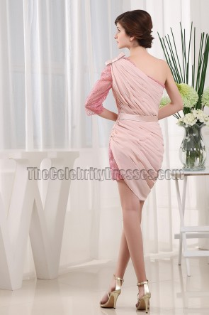 New Style Pink Short Party Homecoming Cocktail Dresses