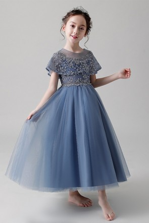 Princess Tulle Flower Girl Dress