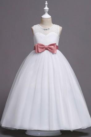 Sleeveless A-line Junior Bridesmaid Dress