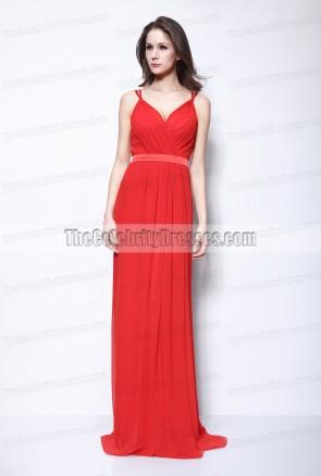 セレナゴメス赤ウエディングイブニングドレス2011オスカーレッドカーペット