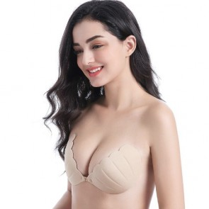 Sexy Invisible Nylon Shell One-pieces Bra