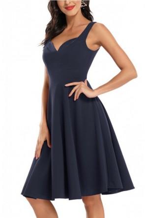 Sleeveless A-line Bridesmaid Dress