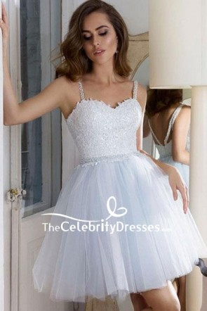 Short Mini A-Line Sweetheart Homecoming Party Dress