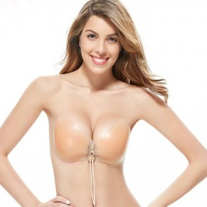 Strapless & Multi-Way Invisible Strapped Silicone Bra