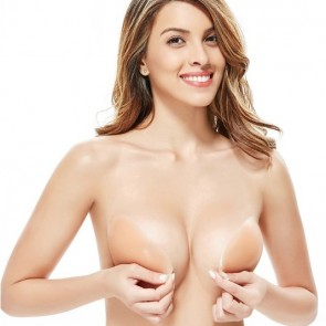 Strapless & Multi-Way Invisible Wireless Silicone Bra