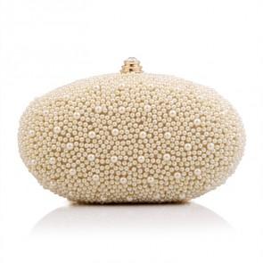 New Fashion Women Evening Bag Pearl Clutch Party Hand Bag TCDBG0097