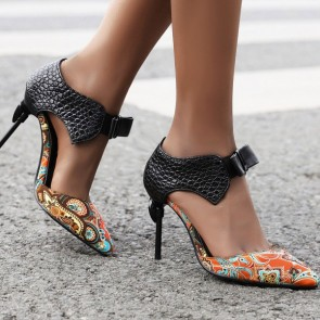 Women's Stiletto Heels Pointed Toe Shoes For Prom