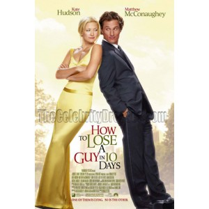 Kate Hudson Yellow Evening Prom Dress in How to Lose a Guy in 10 Days