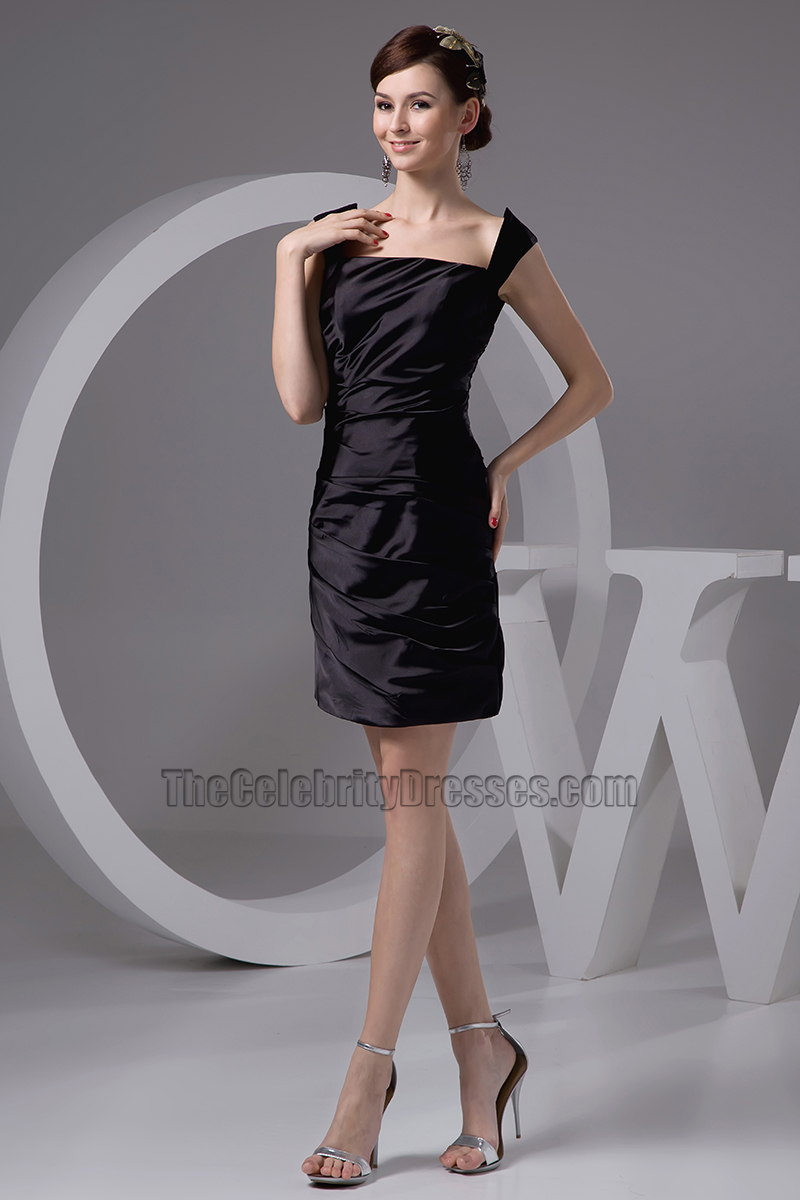 Discount Short Black Cocktail Homecoming Party Dresses ...
