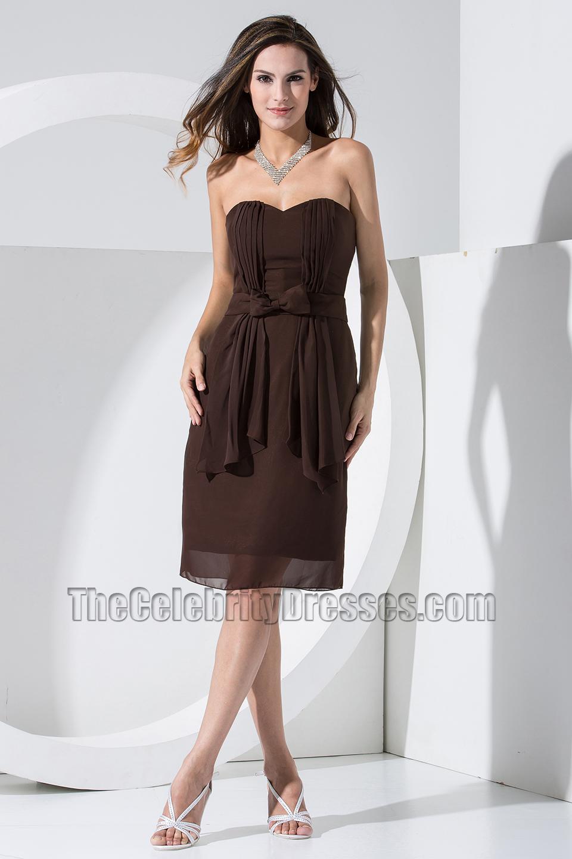 Chocolate Brown Cocktail Dresses - Ocodea.com