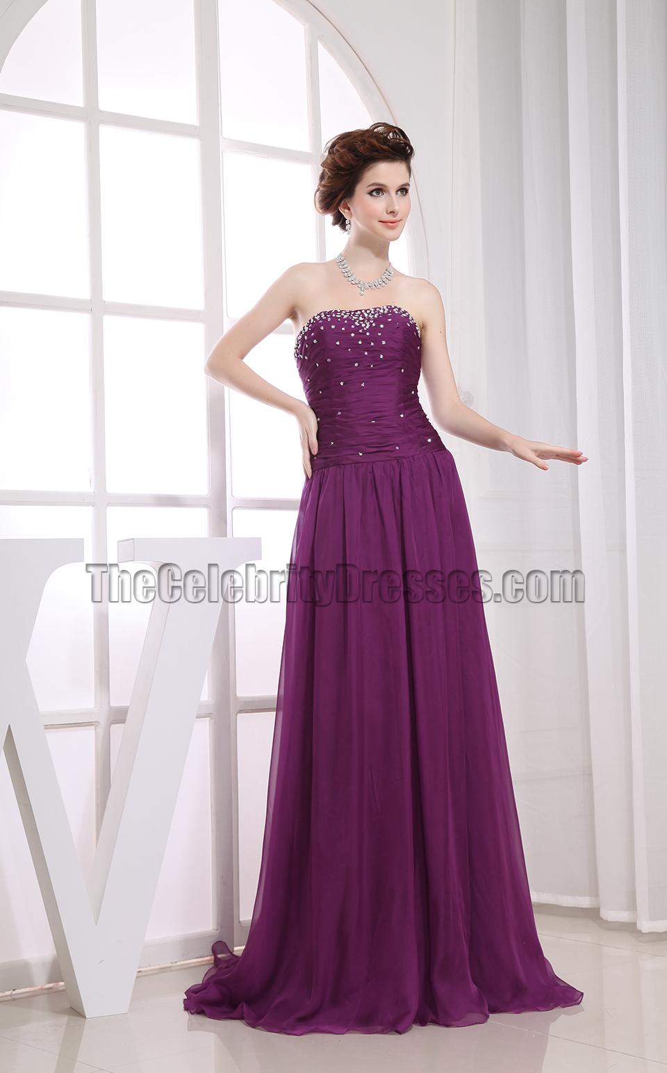 Purple Bridesmaid Dresses - TheCelebrityDresses