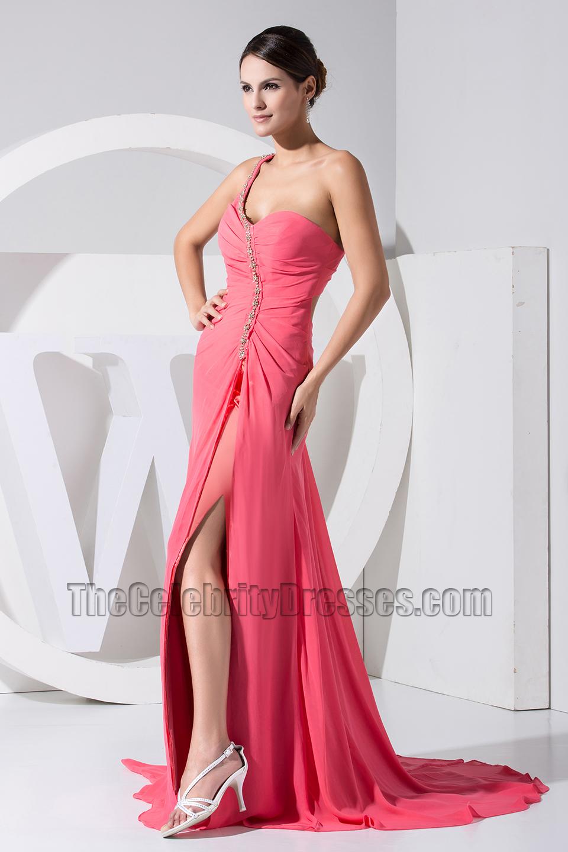 Elegant Backless One Shoulder Sweetheart Prom Dress Formal Evening ...