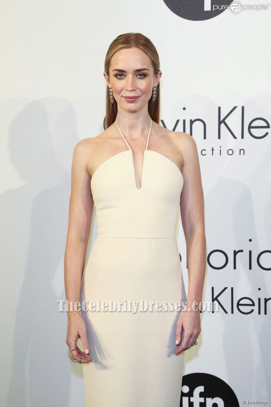 Emily Blunt Halfter Abendkleid Cannes Film Festival 2015 Festliches ...