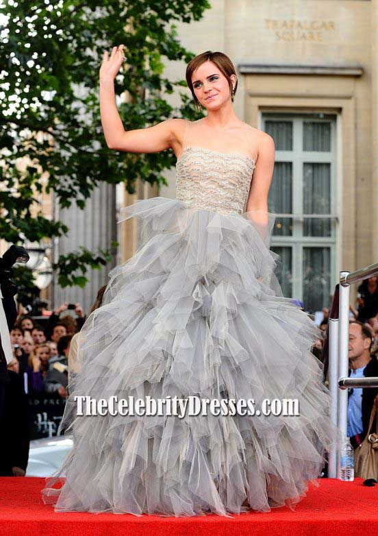 Emma Watson Harry Potter And The Deathly Hallows Part 2 Premiere Dress Emma Watson Tul...