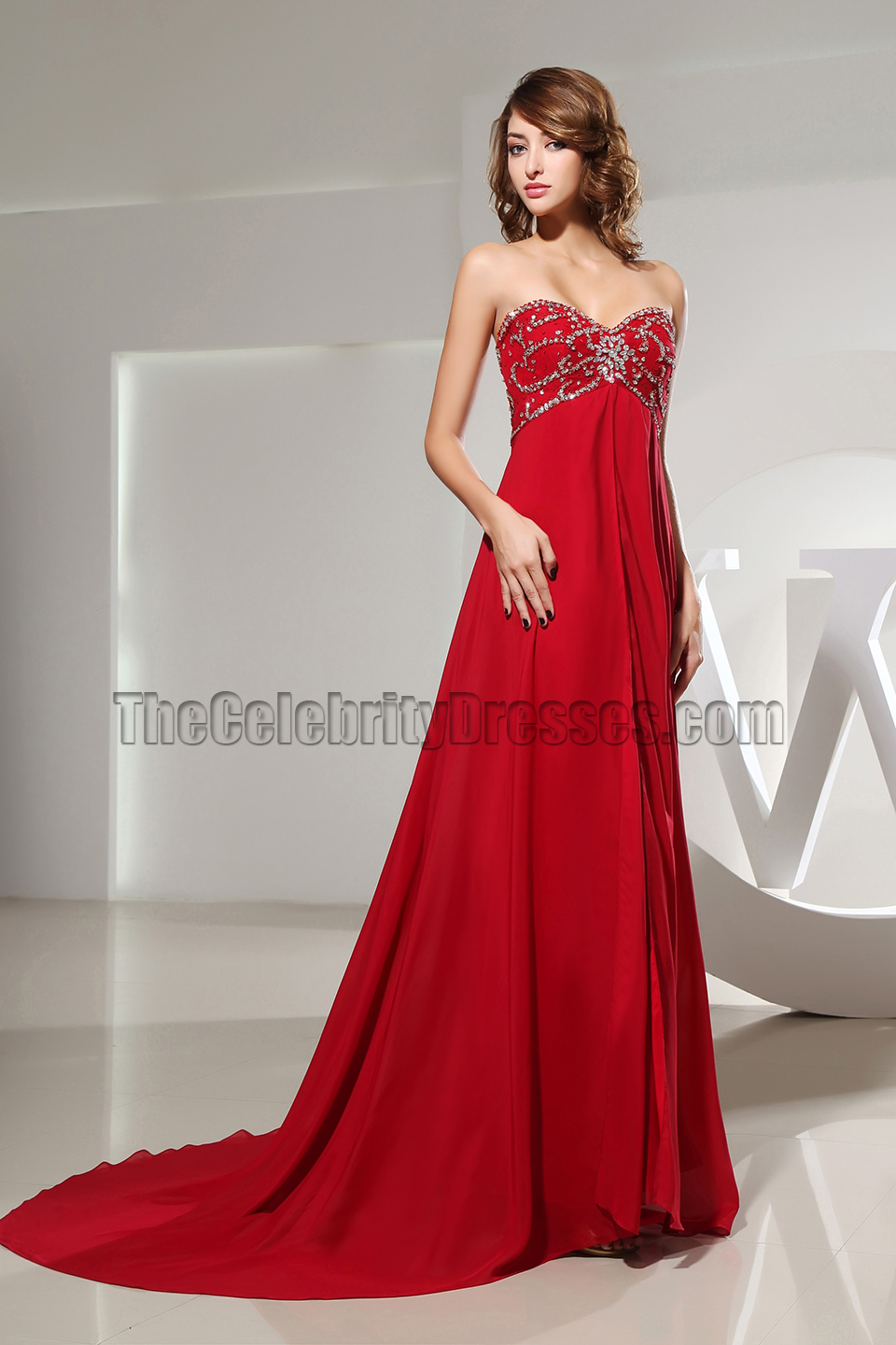Red strapless sweetheart beaded bridesmaid dress prom dresses red strapless sweetheart beaded bridesmaid dress prom dresses thecelebritydresses ombrellifo Images
