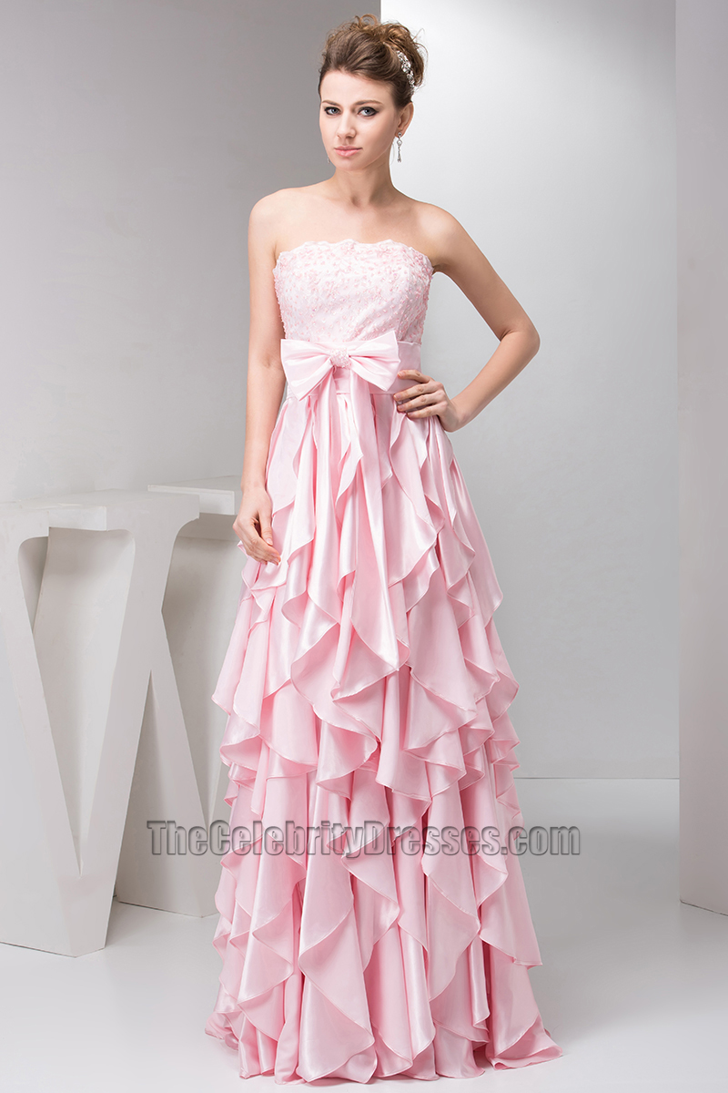 Prom Dresses with Ruffles