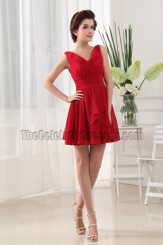 V-Neck Party Dresses