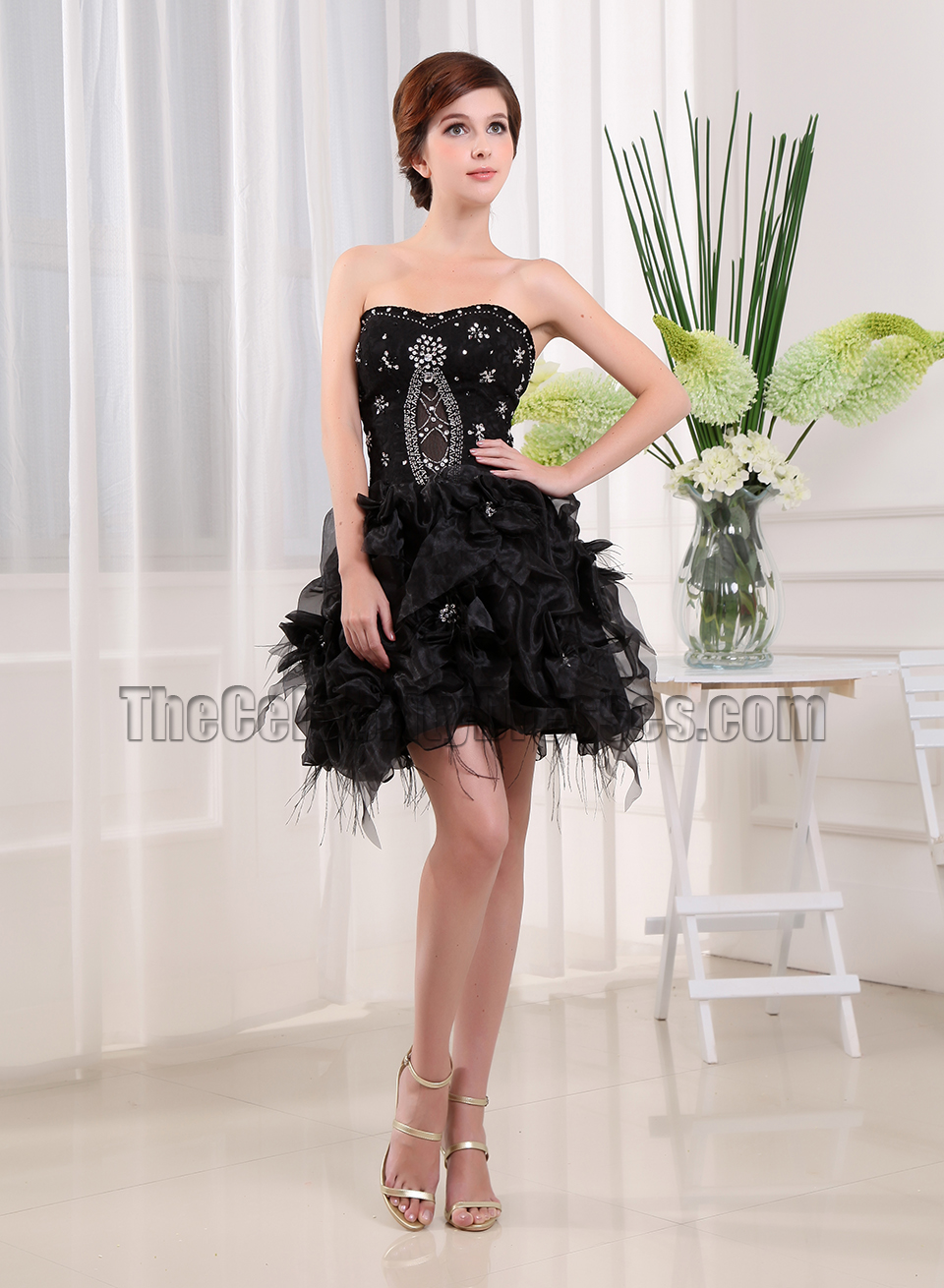 black party dress gorgeous black beaded dress black 12071