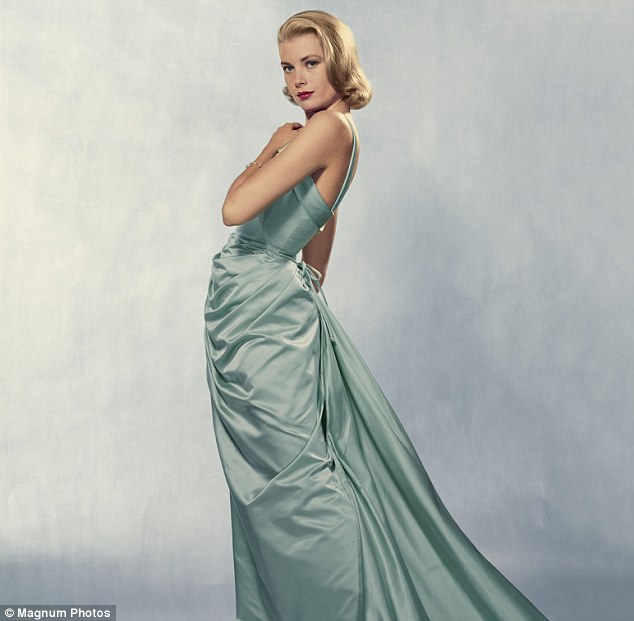 Grace Kelly Classic Oscar Formal Dress Evening Gown ...