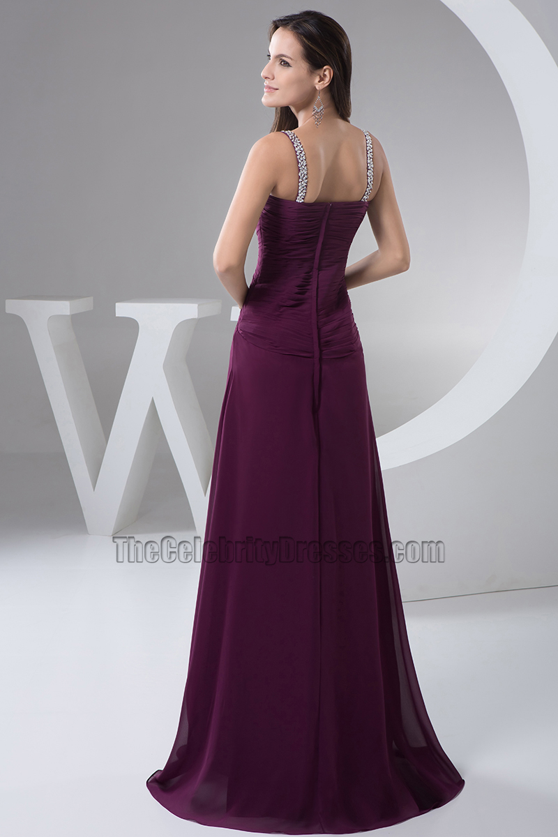 2893000c82 Grape Sequined Prom Gown Evening Dress - TheCelebrityDresses