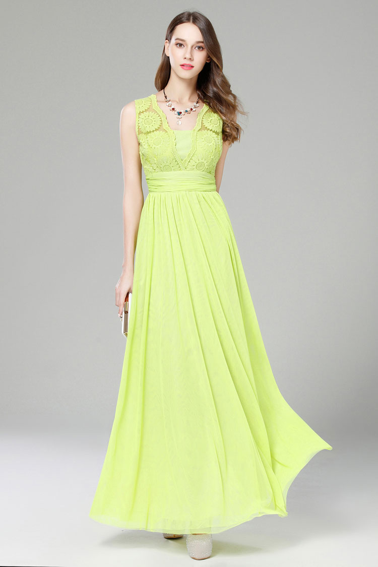 green sleeveless maxi dress wedding guest dresses