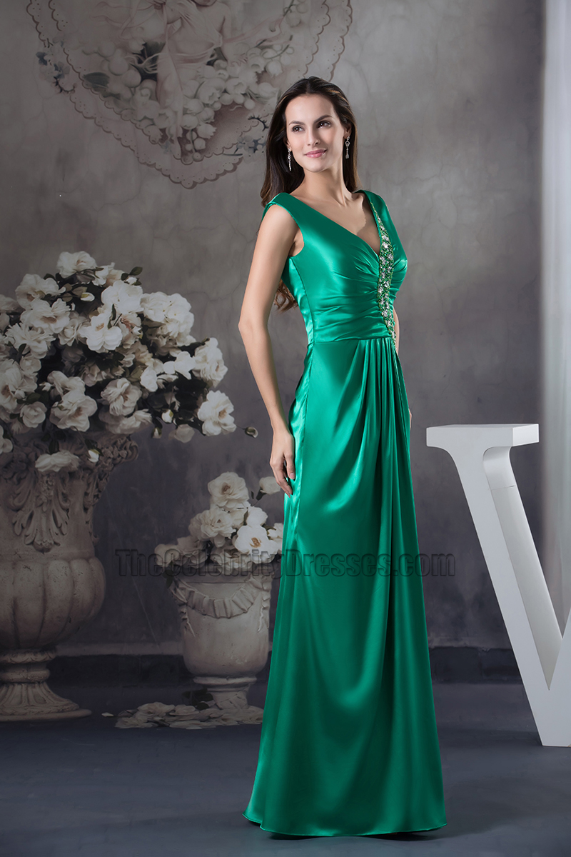 Hunter v neck long evening bridesmaid dress prom formal gown hunter v neck long evening bridesmaid dress prom formal gown thecelebritydresses ombrellifo Image collections