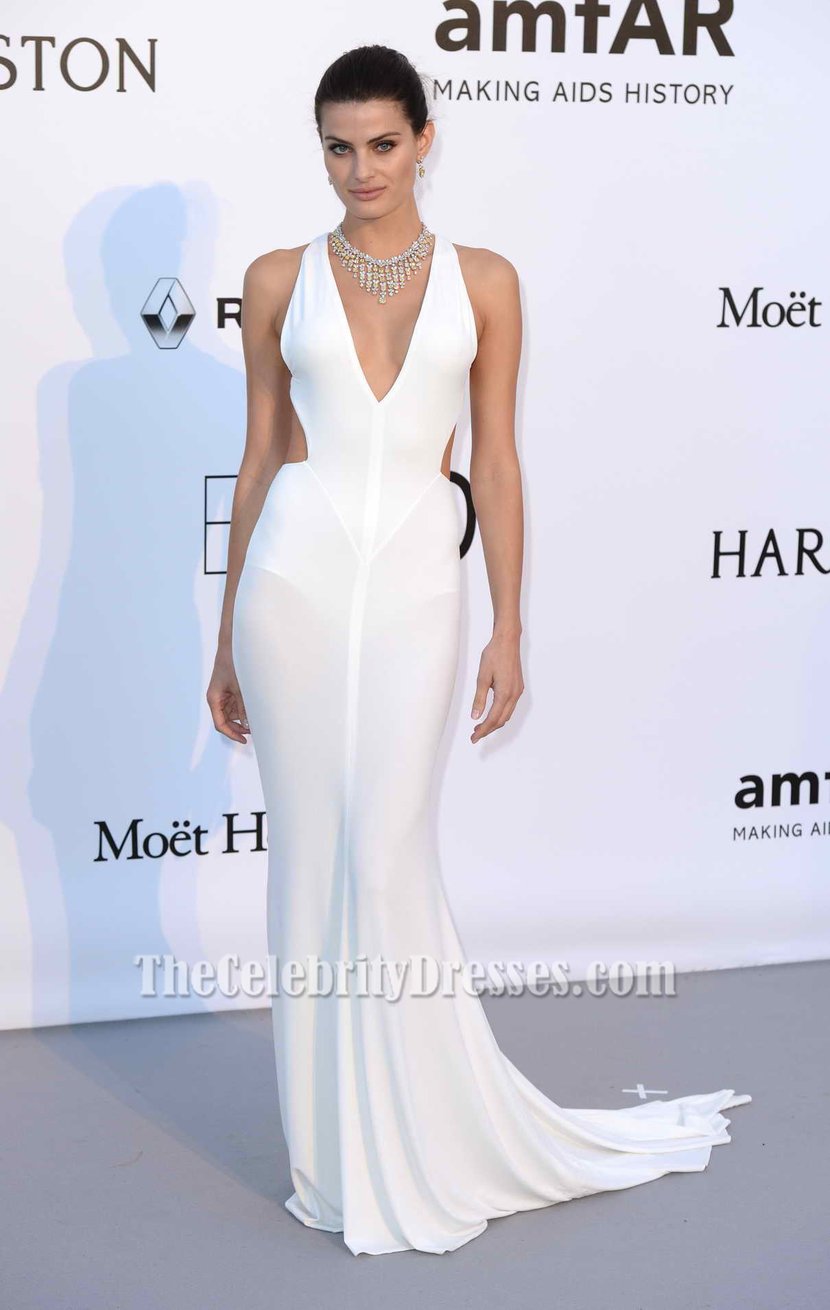Isabeli Fontana AmfAR's 23rd Cinema Against AIDS Gala 2016 White ...