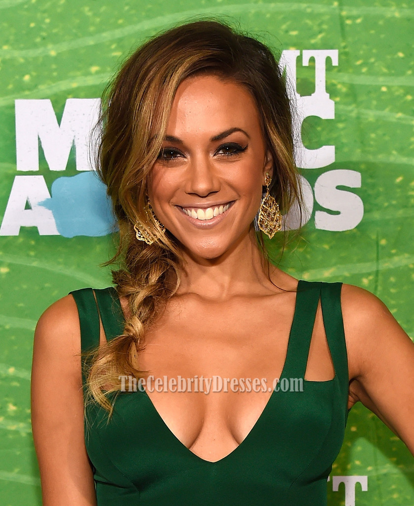 Jana Kramer Cut Out Evening Dress 2015 CMT Music Awards ...