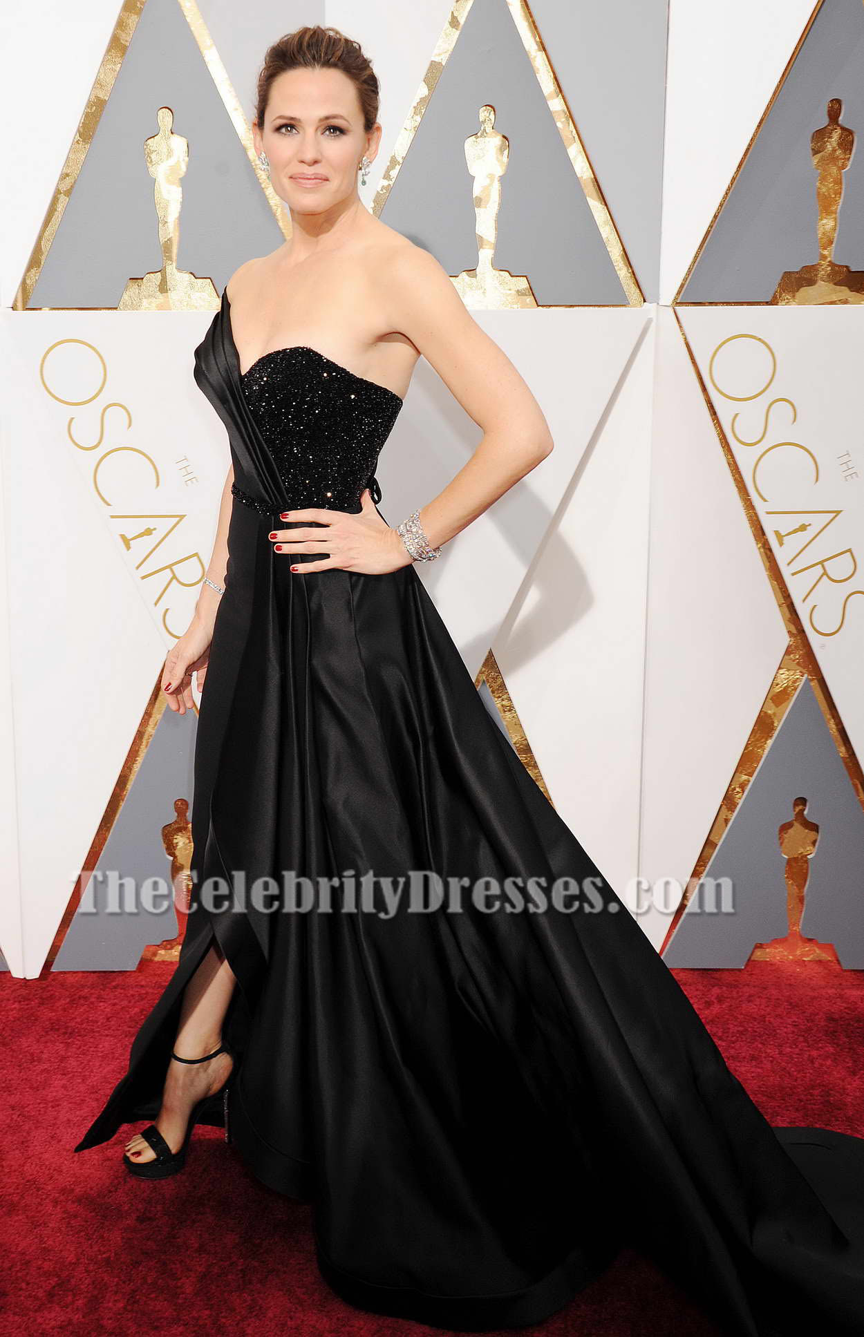 Jennifer Garner Black Formal Dress 88th Annual Academy Awards ...