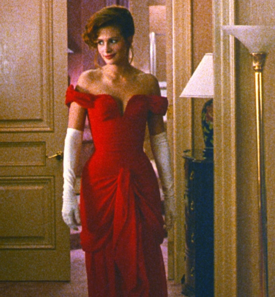 Julia Roberts Red Evening Prom Dress in 'Pretty Woman ...