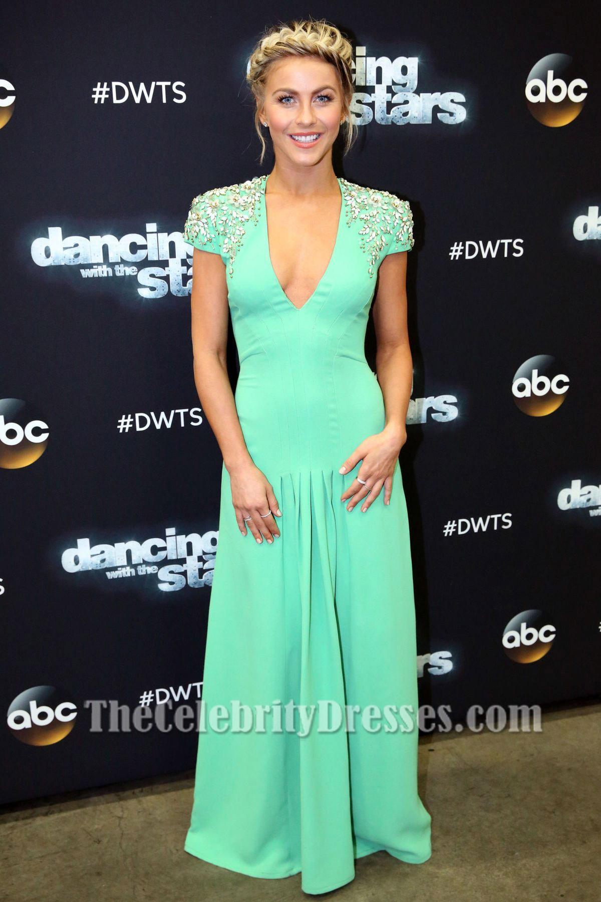 Films Met Julianne Hough Julianne Hough Beaded Evening Dress Season Of Dancing
