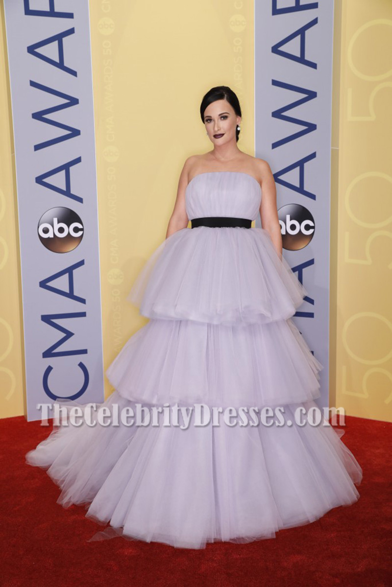 dceac129f4049 Kacey Musgraves Lavender Princess Ball Gown 50th annual CMA Awards -  TheCelebrityDresses