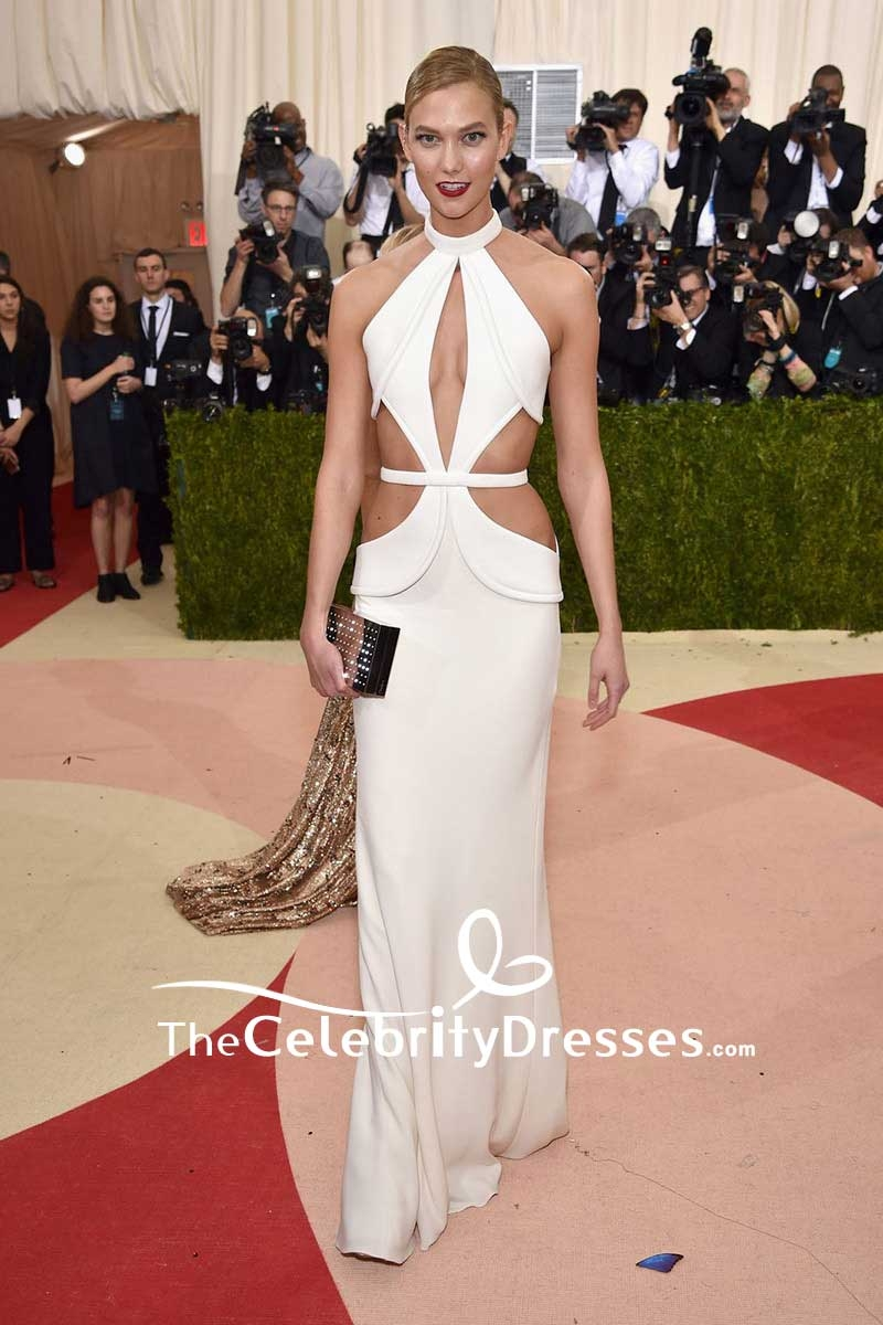 Can Sexy white cut out dresses