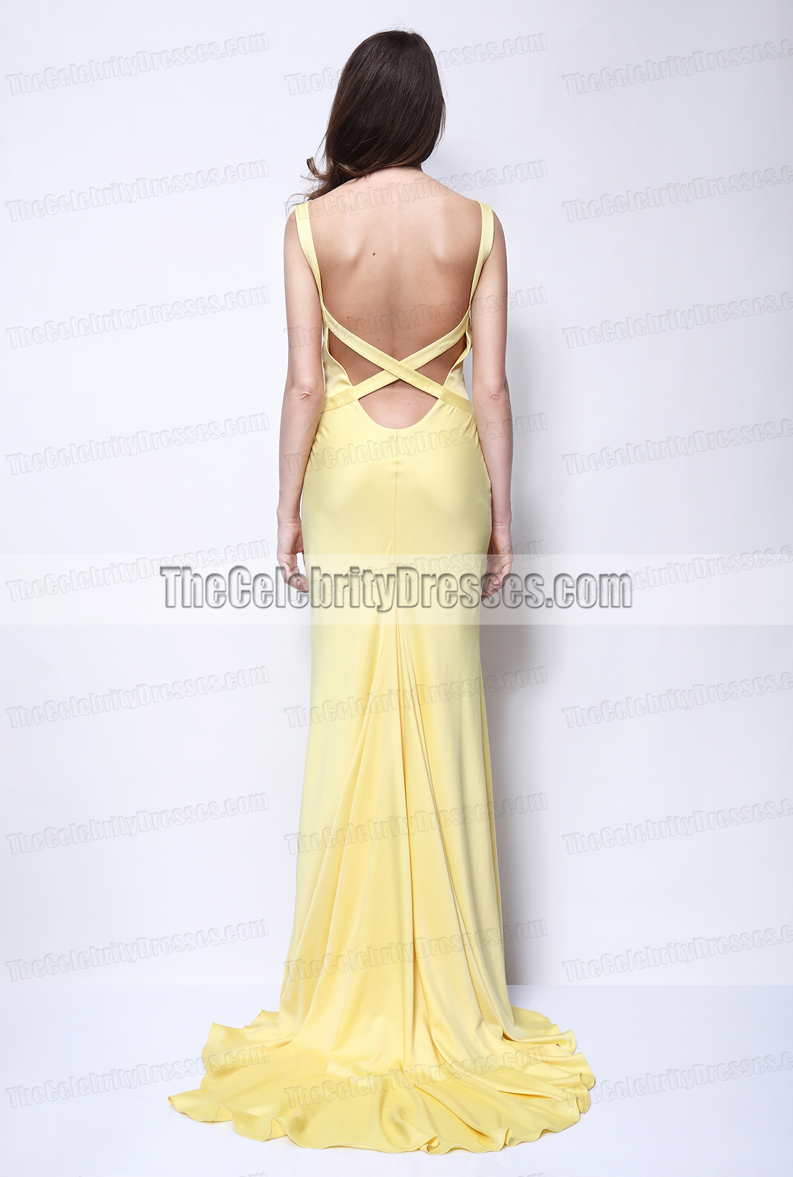 Kate Hudson Yellow Evening Prom Dress in How to Lose a Guy in 10 ...