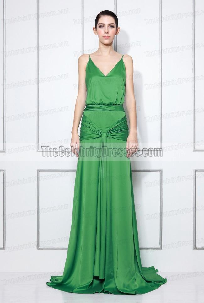 Keira Knightley Grünes Weinlese-Abend-Kleid im Film-Sühne ...