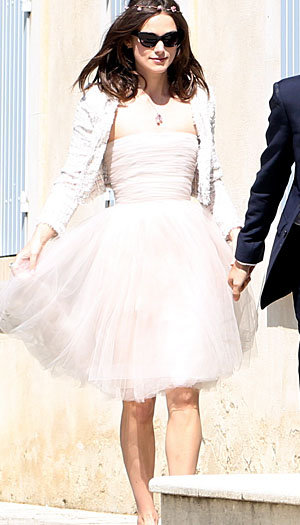 keira knightley's wedding dress