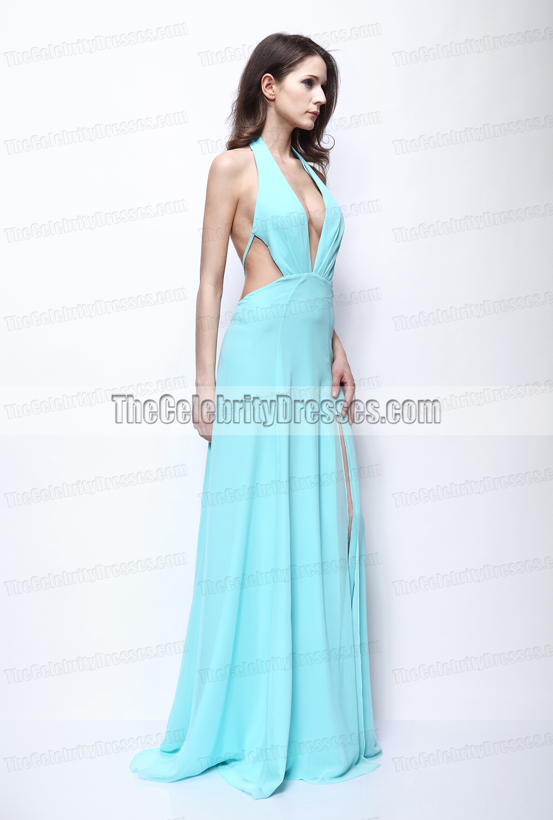 Kimberley Garner Sexy Backless Prom Dress \'The Dark Knight Rises ...
