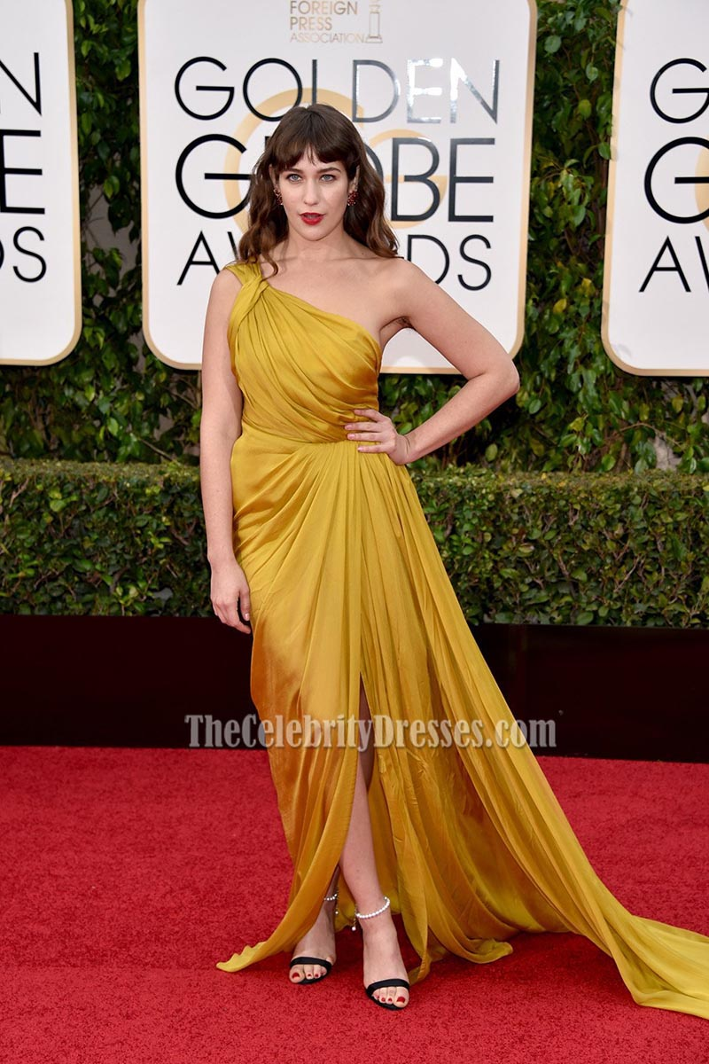 Lola Kirke 73rd Annual Golden Globe Awards Gold One