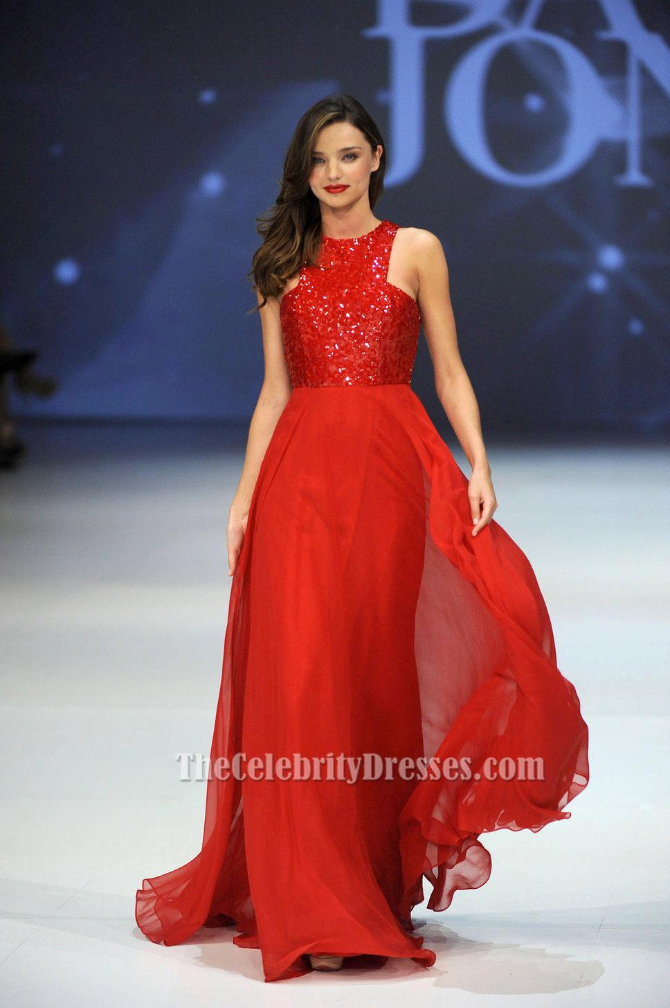 Red Dress Prom Dress