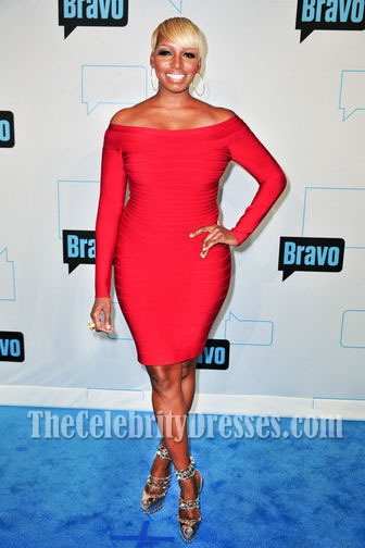 Long Sleeve Red Cocktail Dresses